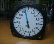 manometro aviación renault turbo