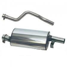 tubo y silencioso escape inox renault 5 alpine turbo