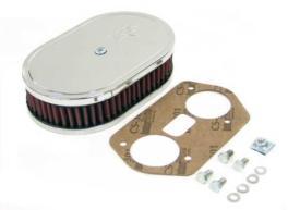 filtro aire carburador weber vertical altura 45 mm