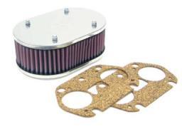 filtro aire carburador weber vertical altura 63 y 83 mm