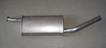 silencioso trasero renault 5 gt turbo tipo serie aluminizado