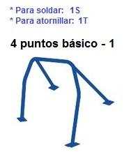 ARCO SEGURIDAD DE VEHÍCULO ROLL-BAR - todos modelos vehículos - 1