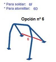 ARCO SEGURIDAD DE VEHÍCULO ROLL-BAR - todos modelos vehículos - 7
