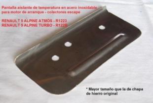 R5 - AISLANTE DE MOTOR ARRANQUE A COLECTORES RENAULT 5 ALPINE - copia