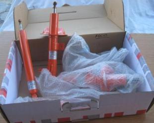 amortiguadores deportivos regulables con gas ford focus mk1
