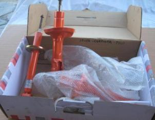 amortiguadores deportivos regulables con gas nitrogeno seat ibiza mk2 y volkswagen polo mk2