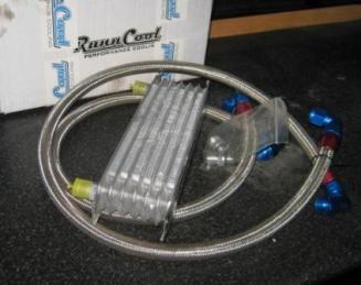 kit radiador aceite 7 filas con tubos y racores - copia