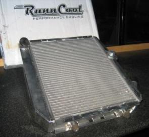 radiador aluminio sin intercambio aceite renault 5 gt turbo- renault 11 turbo