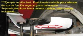 semi ballesta helper fiat panda 4WD -