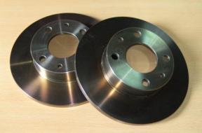discos delanteros freno - solidos - Fiat - Seat 227 mm tratados panda - marbella- 127 - 124 - ritmo - 131 - FL90 - FL82