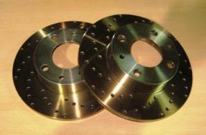 discos freno seat panda - marbella - 127 - 124 - perforados y tratados