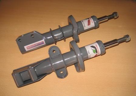 amortiguadores delanteros hidraulicos retarados off road marbella MK2
