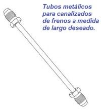 tubo metalico frenos