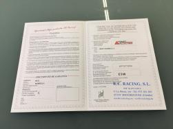DOCUMENTO HOMOLOGACION ESCAPE DEPORTIVO SEAT MARBELLA