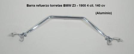 barra refuerzo torretas de suspension bmw z3 4 cilindros - aluminio