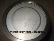 piston falso tarabusi - copia china mala calidad